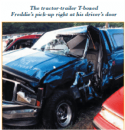 1 million for trucking accident 2