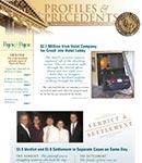 Profiles & Precedents: Mar-Dec 2010