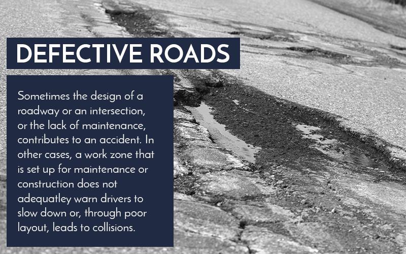 Defective Roads graphic