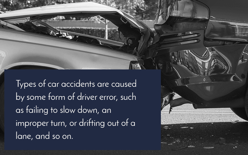 car accident types graphic