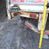 Truck back tire